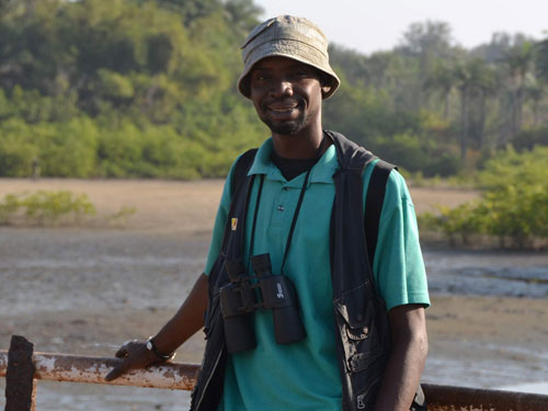mahmoud bah birdwatching guide